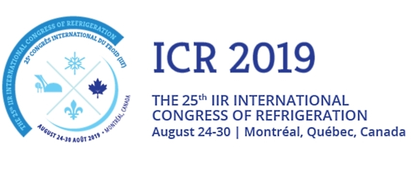 Calling all authors: abstract submission now open for the International Congress of Refrigeration 2019